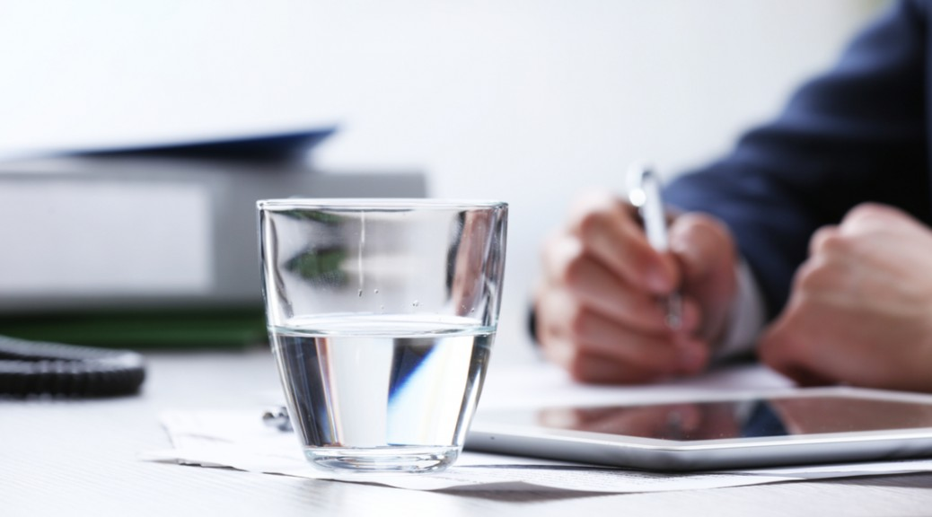 How Drinking More Water Increases your Productivity at Work